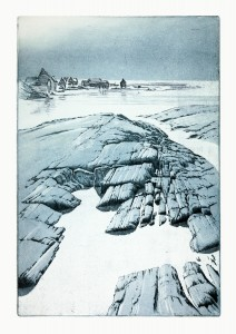 'Structure I' etching, 2006