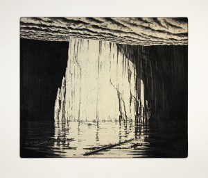 'Where else to go..?' 56x46cm, etching, 2012